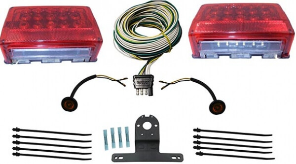 PL2751 ~ LED TRAILER LIGHTING & WIRING KIT description ... on